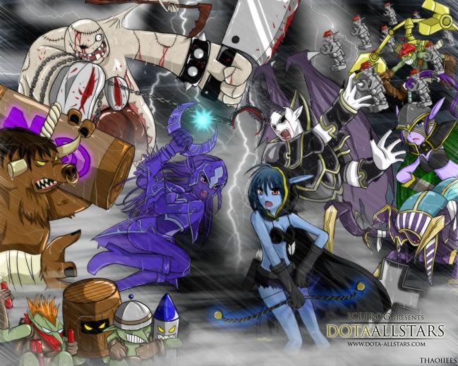 Дота Карты Warcraft 3