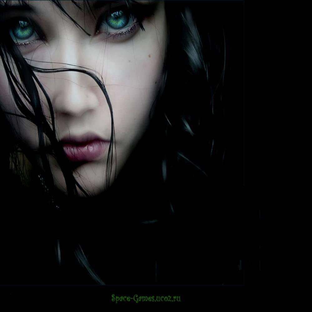 Зеленоглазая девушка
